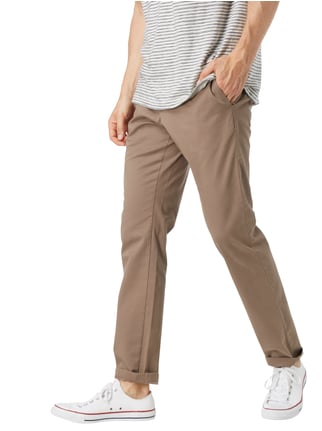 Tommy Hilfiger Straight Fit Chino mit Stretch-Anteil Schlamm - 1