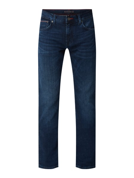 Tommy Hilfiger Straight Fit Jeans mit Stretch-Anteil Blau - 1