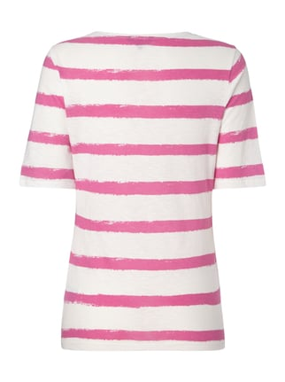 Tommy Hilfiger T-Shirt mit Allover-Muster Pink - 1