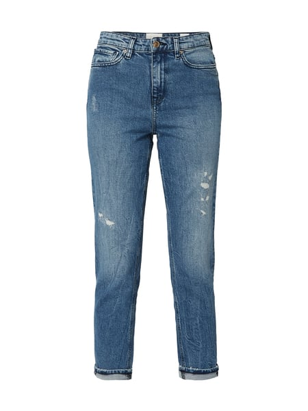 Tommy Hilfiger – 'Tommy Icons' Loose Tapered Fit Jeans im Used Look – Jeans