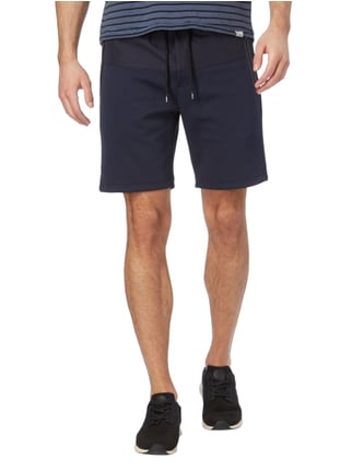 Tommy Hilfiger Vintage Fit Sweatbermudas mit Webstruktur Marineblau - 1