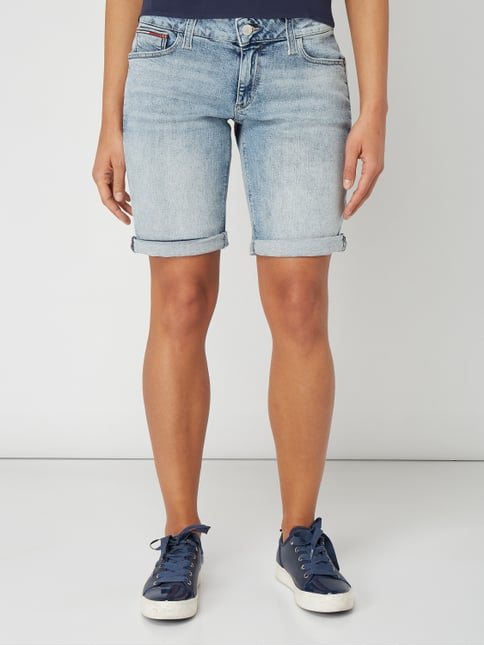Classic Denim Lo Bleached Tapered Fit Jeansshorts