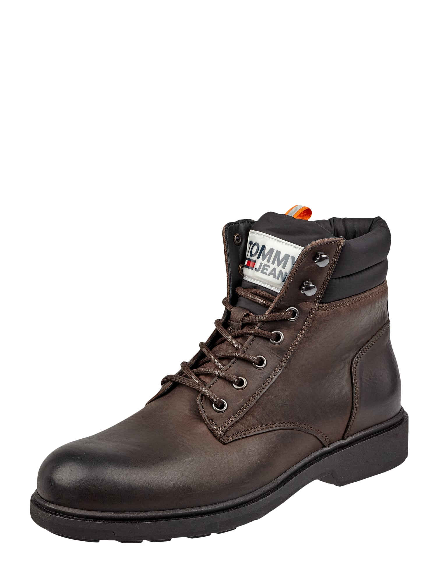 new lifestyle wholesale dealer good looking TOMMY-JEANS Boots aus Leder in Braun online kaufen (4033864 ...