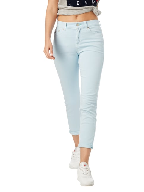 Hilfiger Denim Coloured High Waist Jeans mit Stretch-Anteil Hellblau meliert - 1