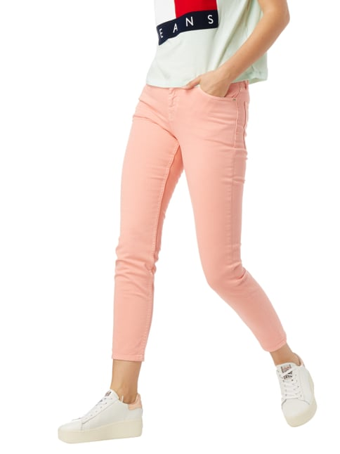 Hilfiger Denim Coloured High Waist Jeans mit Stretch-Anteil Rosé - 1