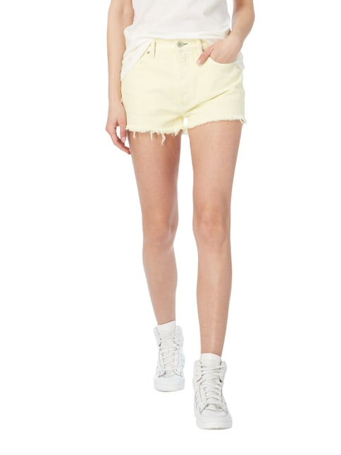 Hilfiger Denim Coloured High Waist Jeansshorts Hellgelb - 1