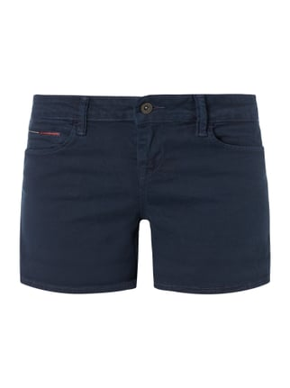 Coloured Jeansshorts mit Stretch-Anteil Blau / Türkis - 1