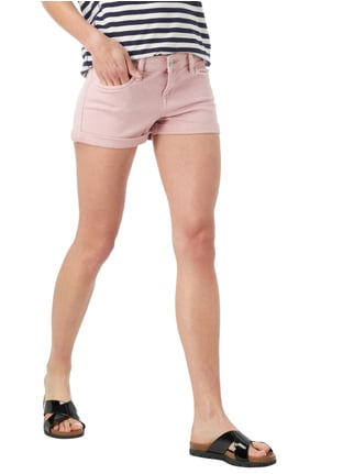 Hilfiger Denim Coloured Jeansshorts mit Stretch-Anteil Rosa - 1