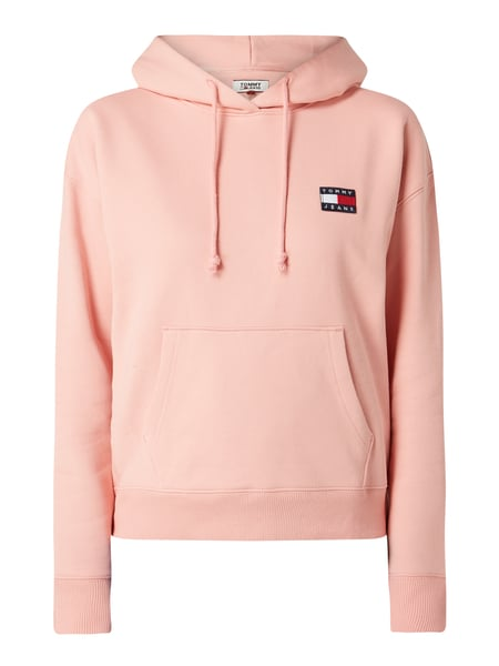 Tommy Jeans Hoodie - 'Better Cotton Initiative' Rosa - 1