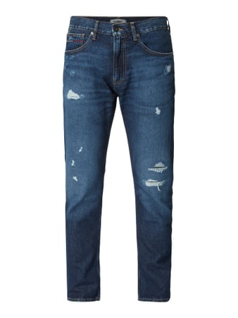 Tommy Jeans Modern Tapered Fit Jeans aus recycelter Baumwolle Blau - 1