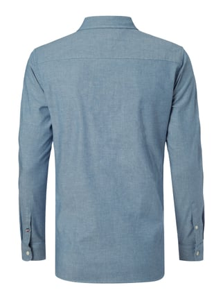 Hilfiger Denim Regular Fit Freizeithemd mit Button-Down-Kragen Blau - 1