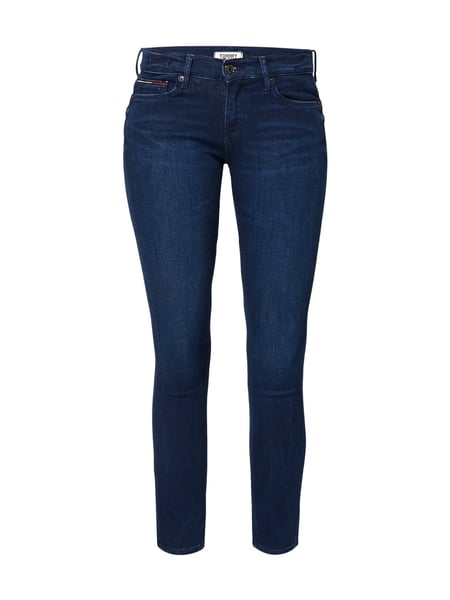 Tommy Jeans Mid Rise Skinny - Rinsed Washed Skinny Fit Jeans Jeans