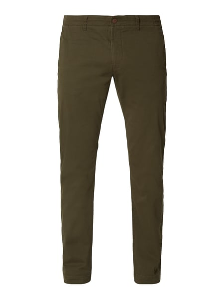 Tommy Jeans Slim Fit Chino mit Logo-Stickereien Grün - 1