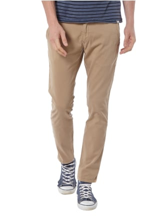 Hilfiger Denim Slim Fit Chino mit Stretch-Anteil Beige - 1