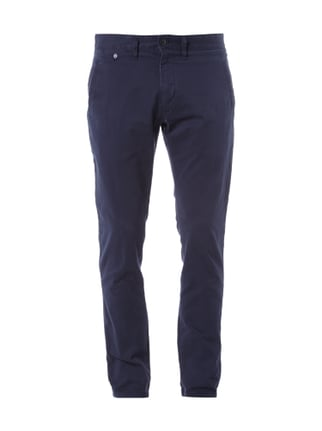 Slim Fit Chino mit Stretch-Anteil Blau / Türkis - 1