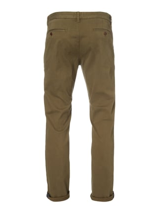 Hilfiger Denim Slim Fit Chino mit Stretch-Anteil Olivgrün - 1