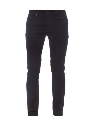 Slim Fit Coloured Denim 5-Pocket-Jeans Grau / Schwarz - 1