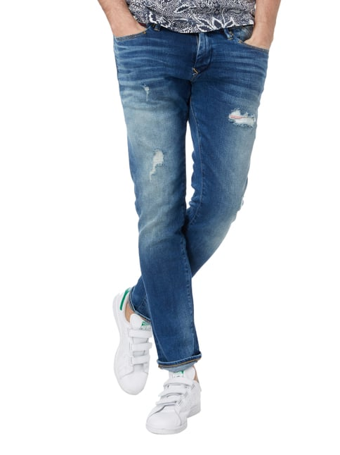 Hilfiger Denim Slim Fit Jeans im Destroyed Look Jeans - 1