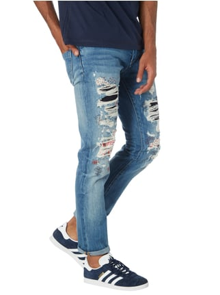 Hilfiger Denim Slim Fit Jeans im Destroyed & Repaired Look Jeans - 1