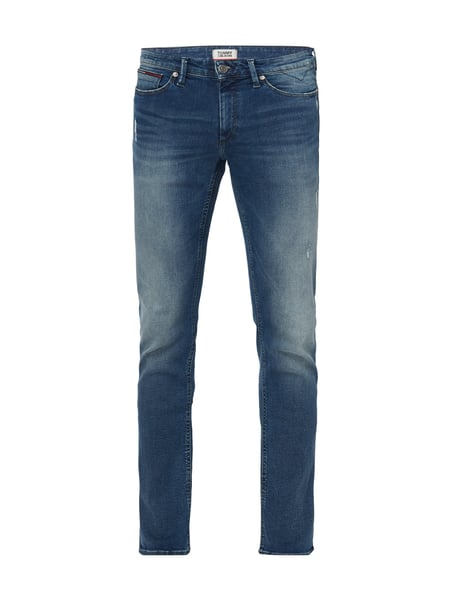 Tommy Jeans Slim Scanton Dyi - Slim Fit Jeans im Used Look Jeans