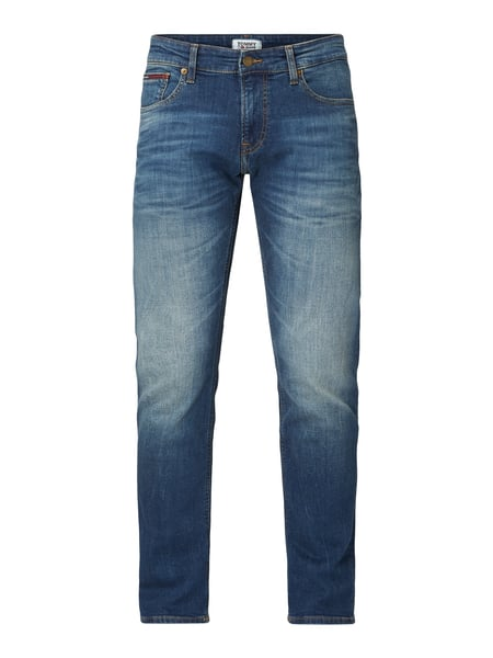 Tommy Jeans Slim Fit Jeans mit Stretch-Anteil Blau - 1