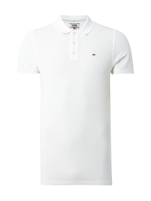 best value 3184f a0d51 Tjm O Pique Polo - Slim Fit Poloshirt mit Logo-Stickerei