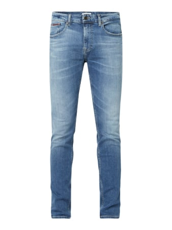 Tommy Jeans Slim Tapered Fit Jeans mit Stretch-Anteil Blau - 1