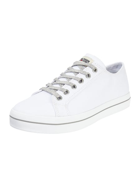 Tommy Jeans Nice 1d1 - Sneaker aus Canvas Weiß