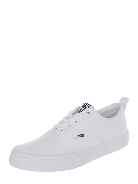 Tommy Jeans Sneaker van canvas Wit - 1