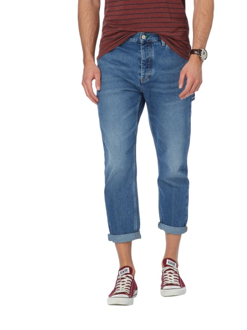 Hilfiger Denim Stone Washed Classic Fit Jeans Dunkelblau - 1
