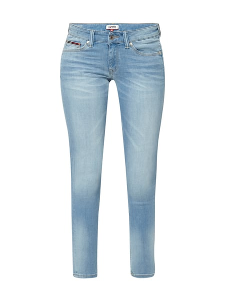 Tommy Jeans Low Rise Skinny - Stone Washed Skinny Fit 5-Pocket-Jeans Jeans