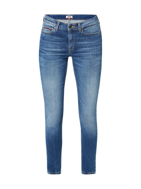 aea62ddbeca4 Tommy Jeans Stone Washed Skinny Fit Jeans Blau   Türkis - 1 ...