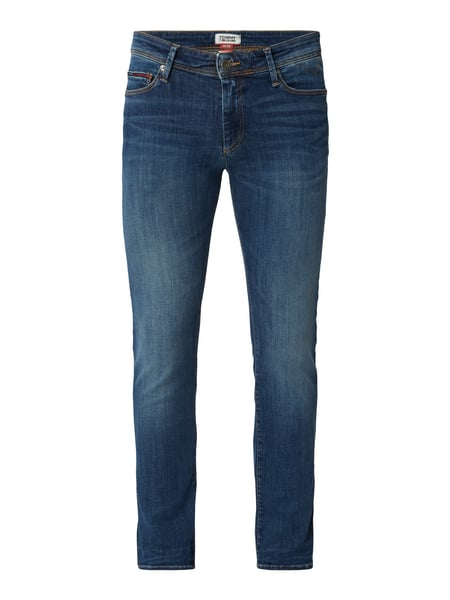 Tommy Jeans Stone Washed Skinny Fit Jeans Blau - 1
