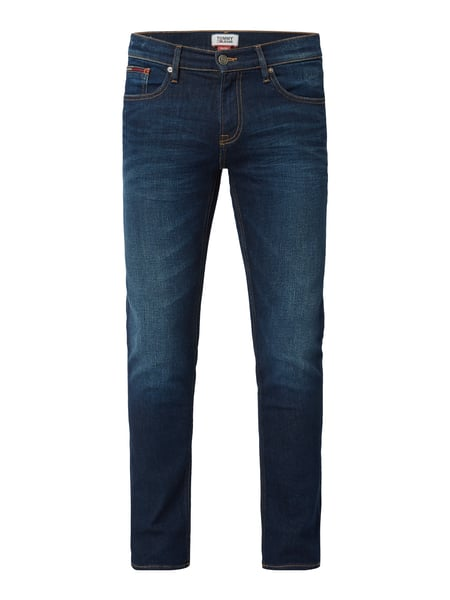 Tommy Jeans Stone Washed Slim Fit Jeans Blau - 1
