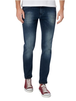 Hilfiger Denim Stone Washed Slim Fit Jeans mit Stretch-Anteil Jeans - 1