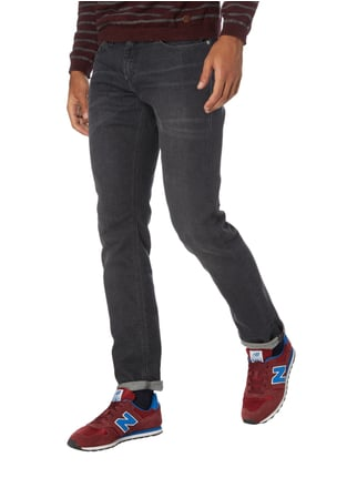 Hilfiger Denim Stone Washed Slim Fit Jeans Schwarz - 1