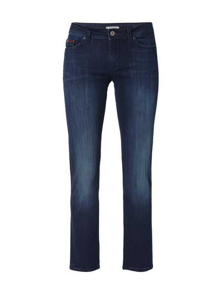 Tommy Jeans Mid Straight San - Stone Washed Straight Fit Jeans Jeans