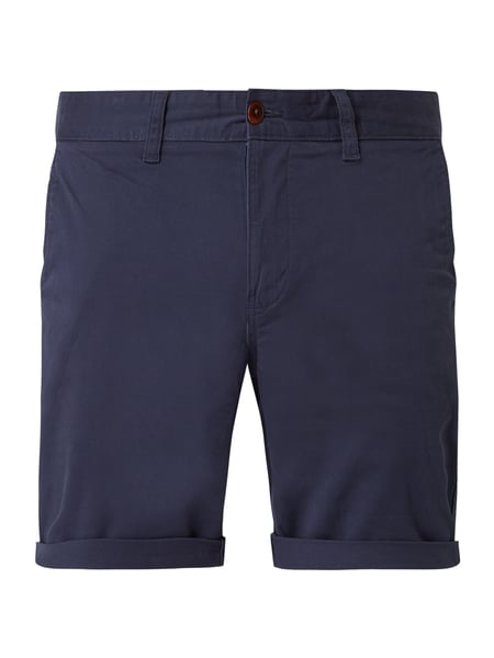 Tommy Jeans Straight Fit Chinoshorts mit Stretch-Anteil Blau - 1