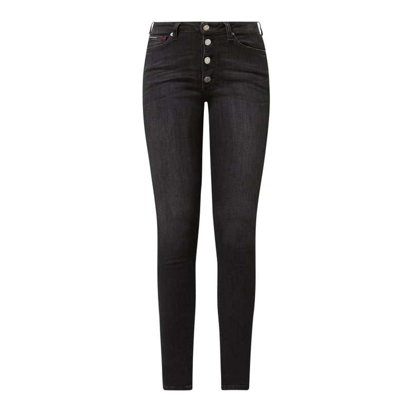 Super Skinny Fit High Rise Jeans mit Stretch-Anteil Modell 'Sylvia', Peek & Cloppenburg