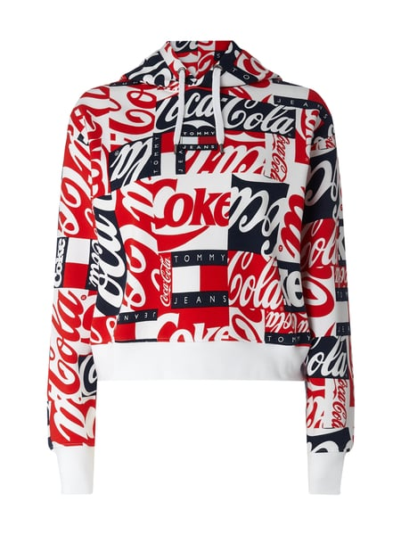 Tommy Jeans Tommy Jeans x Coca Cola® Hoodie mit Logo-Applikation Weiß - 1