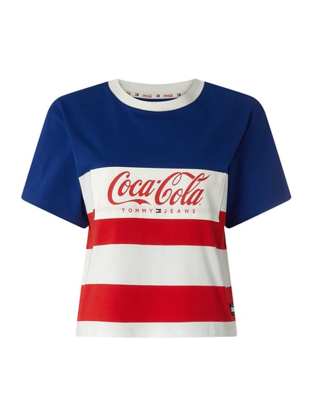 8e37fc26 Tommy Jeans Tommy Jeans X Coca Cola T Shirt Mit Logo Applikation In