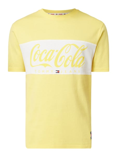 f8d15613 Tommy Jeans Tommy Jeans X Coca Cola T Shirt Mit Print In Orange