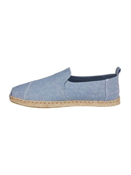toms espadrilles aus canvas in denimoptik in blau t rkis online kaufen 9595522 p c online. Black Bedroom Furniture Sets. Home Design Ideas