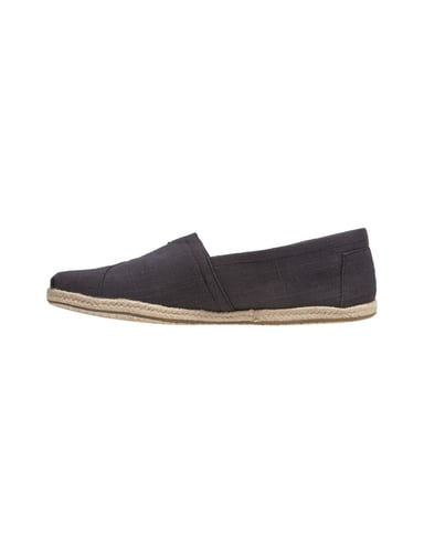 toms espadrilles aus leinen in grau schwarz online kaufen 9446446 p c at online shop. Black Bedroom Furniture Sets. Home Design Ideas