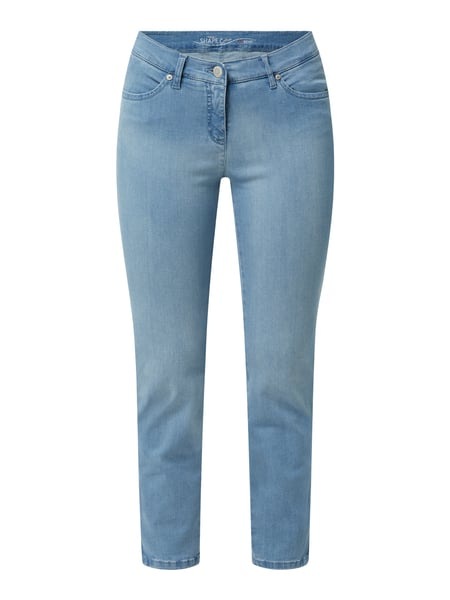 Toni Dress Cropped Jeans mit Stretch-Anteil Modell 'Perfect Shape' Blau - 1