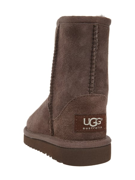ugg boots aus echtem veloursleder in braun online kaufen. Black Bedroom Furniture Sets. Home Design Ideas