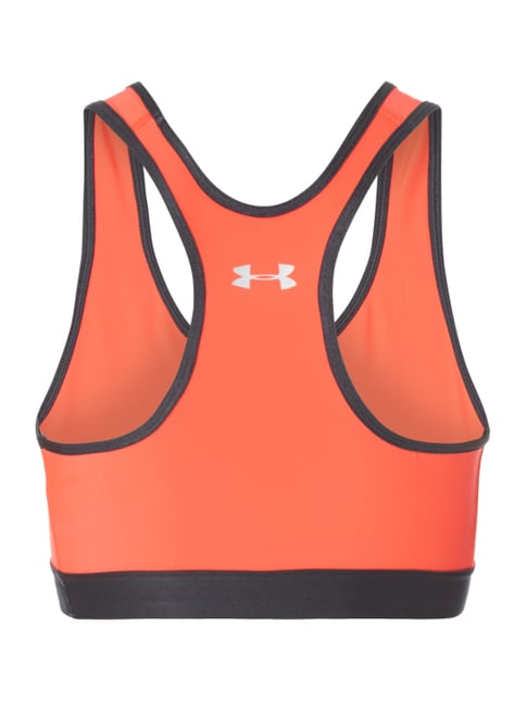 Under Armour Bustier mit Racerback Neon Orange - 1