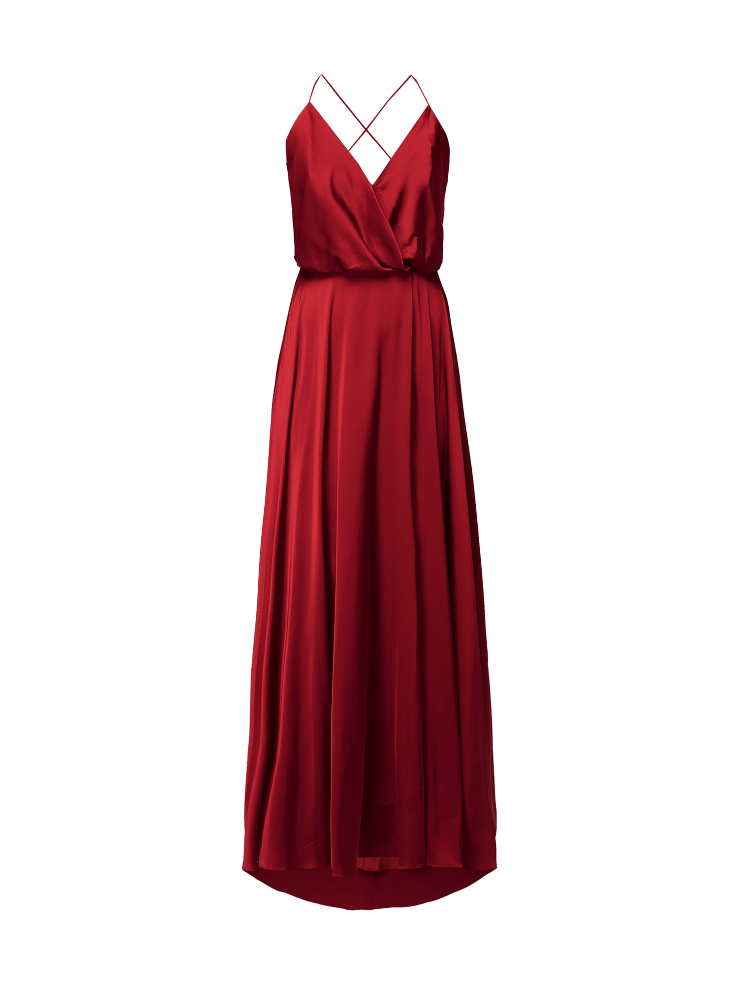UNIQUE Abendkleid aus Satin in Rot online kaufen (11) ▷ P&C Online Shop