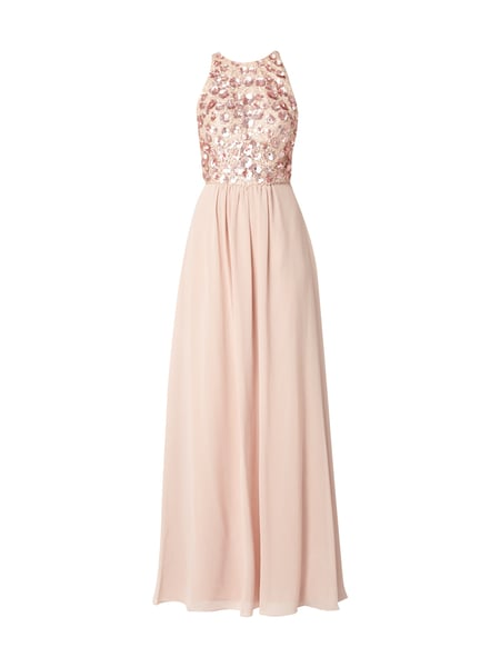 Unique abendkleid rose