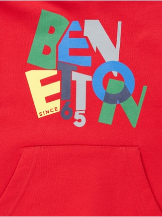 Hoodie mit Logo-Print United Colors of Benetton online kaufen - 1
